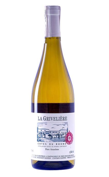 LA GRIVELIÈRE COTES DU RHONE WHITE WINE